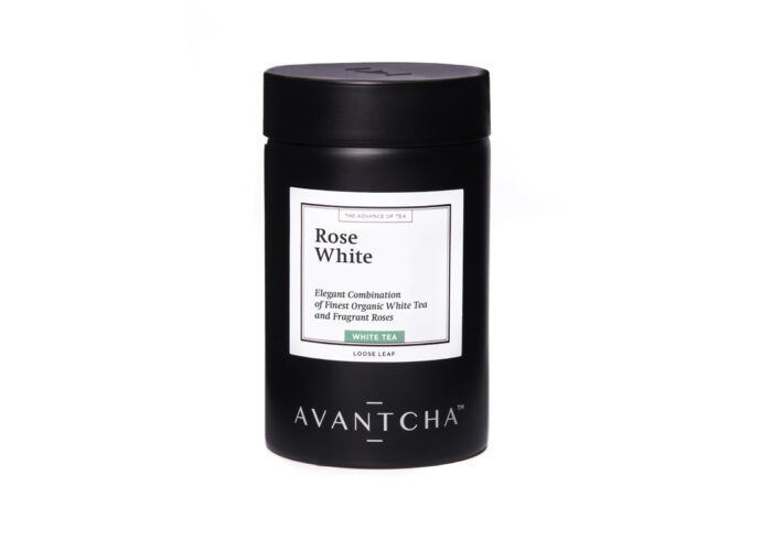 AVANTCHA Rose White tin